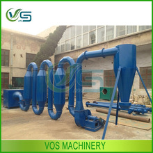 air flow type sawdust drying equipment