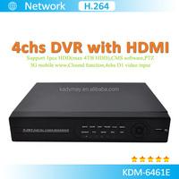 4chs 3G Network Digital Video Recorder