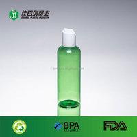 china wholesaler pet products green transparent 100ml swing top bottles