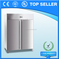 Hot Selling Double Door Commercial Reach In Refrigerator