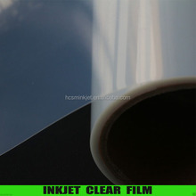 Waterproof Inkjet clear film for screen printing