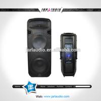 """Dual 15"""" Plastic Speaker System"""
