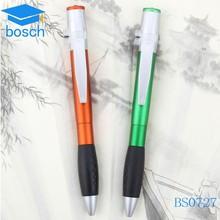 ball pen with led light/ plastic ball pen for student /color pen set plastic