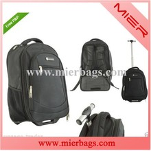 2015 New Products wheeled market Laptop School Trolley Bag With Wheels For China Factory