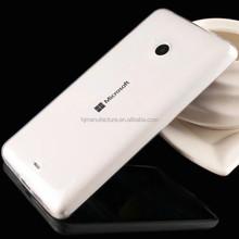TPU Thin Skin Phone Cover Slim Rubber Flex Case for Microsoft Lumia 640