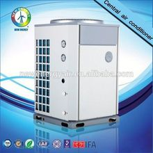 High efficient R407C low noise all-in-one heat pump with high COP heat pump mini split auto protection function