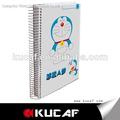 bonito dos desenhos animados impressão estudante caderno de papel