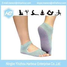 Cotton Anti Slip Indoor sport women Yoga Socks
