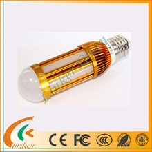 Energy saving 710lm AC95-265V dimmable led corn light 10w with Metal material