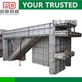 Período de construcción corto instala fácilmente usando pines / cuñas / tiesformwork pared