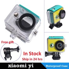 New Products Xiaomi yi waterproof case for xiaomi yi camera, xiaomi yi camera waterproof case , xiaomi yi accessories