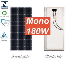A grade high efficiency 12v 180w solar photovoltaic panels