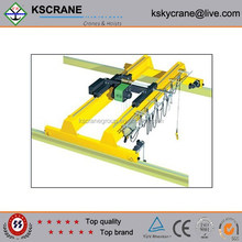 High quality 10t European style overhead travelling crane with electric hoist