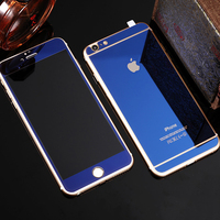 High quality colorful mirror screen protector for Samsung Note 5 with wholesale price