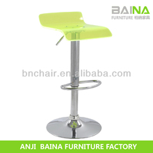 High end swivel bar stool chair in different color