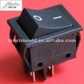pequeños aparatos electrodomésticos de un solo polo negro interruptor basculante