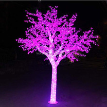 pink H 3M Dia2.6m 3456LED garden lighting super bright christmas decorations led cherry trees light