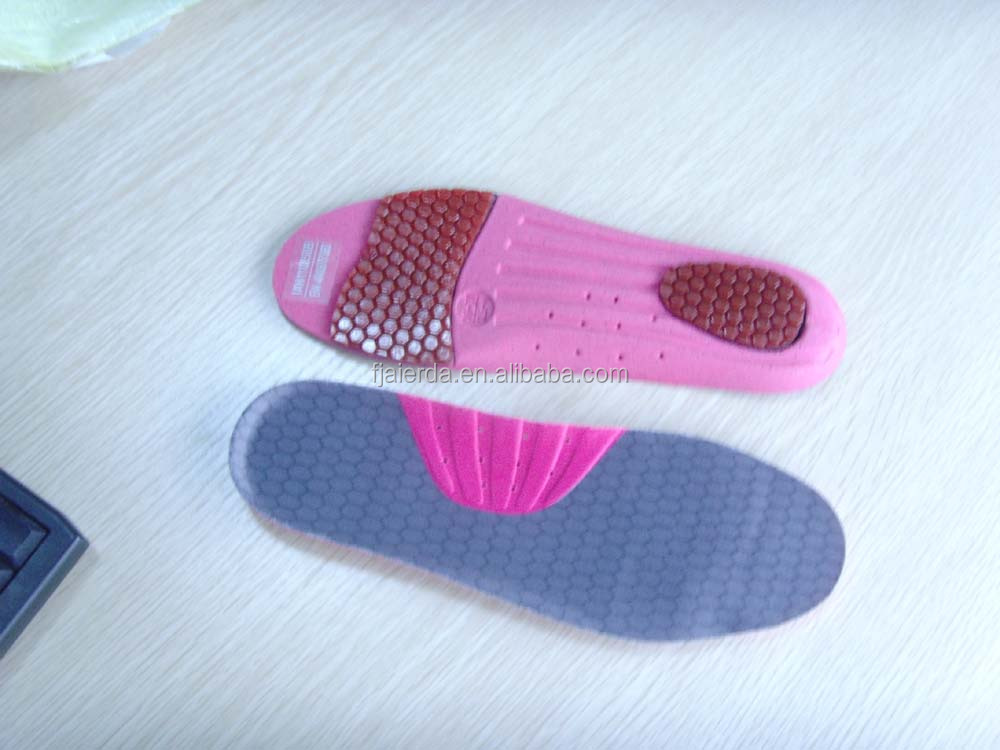 shock absorption sports shoe inserts foot insoles with