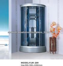 Fibra de vidrio Baño Ducha Ducha y vapor combinado Habitación Individual Persona Cabina de ducha