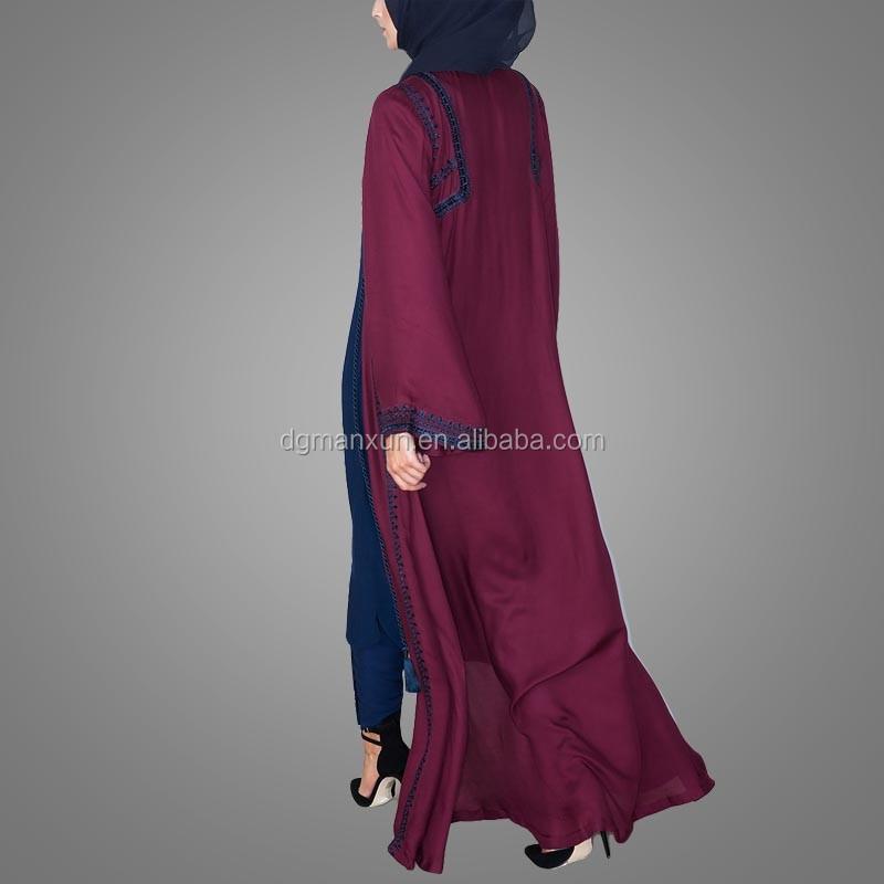 New Burqa Designs In Dubai Photo Long Kimono For Women Tudung Maxi Dress Of Dubai (5).jpg