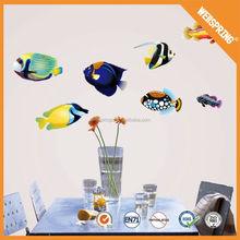 Superior quality home decor pvc decals special design 3d wall sticker