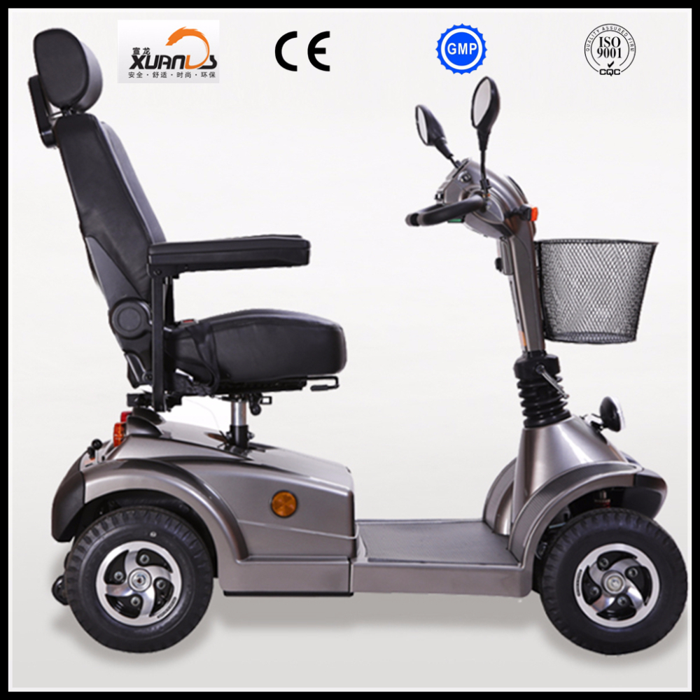 4 wheels electric scooter for elderly and disabled with ce for Motorized scooters for the elderly