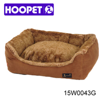 Suede Fabric Cozy Fur Cuddler Pet Bed dog supplies snuggle dog bed