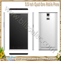 New 5.5 inch city call android quad core cheapest china mobile phone in india