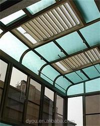 Beautiful aluminum louver roof from alibaba China