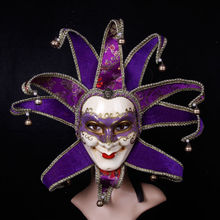 Handmade Italy venetian mask making Full Face old man Masks