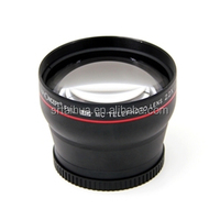 58MM Professional HD 2.2x Telephoto Zoom Lens for Canon