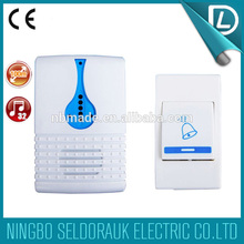 OEM/ODM available battery type remote control wireless weatherproof door bell