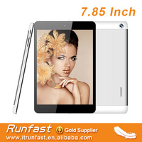 pad size 3G tablet pc with 7.85 inch tablet case