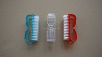 Plastic nail art brush nail polish brush