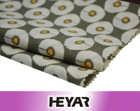 High Quality Wholesale 60S 100% Cotton Woven White Flowers Printed Voile Fabrics and Textile for Ladies' Summer Garment Use