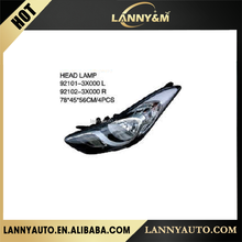 Best price Hyundai ELANTRA 2011 head lamp with different colour 92101-3X000