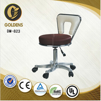leather office chair master stool with wheels