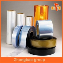 Wrapping Material China suppliers Colored Heat Shrink Wrap Film, packaging plastic film