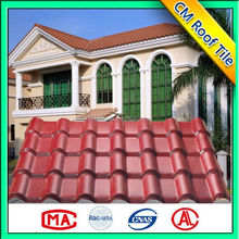 PMMA/ASA synthetic resin roof tile