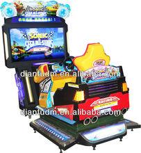 4D Sonic /DF-014 New Design 4D Simulator Arcade Racing Car Game Machine