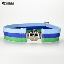 Adjustable Military Canvas Webbing Belt with Alloy Buckle