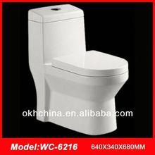 bathroom one piece ceramic type wc toilet