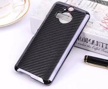 Carbon Fibre Line Hard Skin Case For HTC One M9 Plus