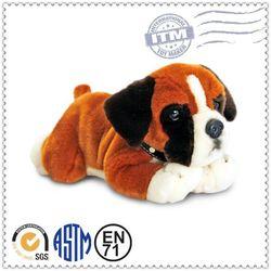 New design stuffed animal for children dog shape pets plush toys