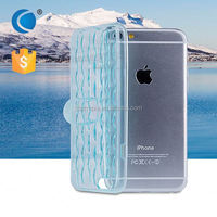 Transparent Crystal Clear TPU cell phone case mobile phone case for lenovo s820t for iphone 6 plus case