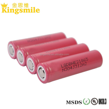 Oringinal New LG HE2 2500mah 20A 36V 18650 Li ion Battery