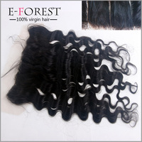 Unprocessed Natural Color Body Wave Indian Human Hair Frontal Lace Closure Silk Base Lace Frontal Cheap Price For Black Friday