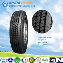 TBR tire, truck & bus tyre, radial tire, BT288 7.50R 16LT