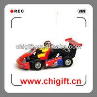 WLToys 2011 1:23 Kart Crazy Racing RC Car w/ LED Light