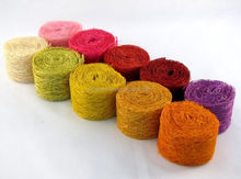 handicrafts made of abaca for party&wedding deco